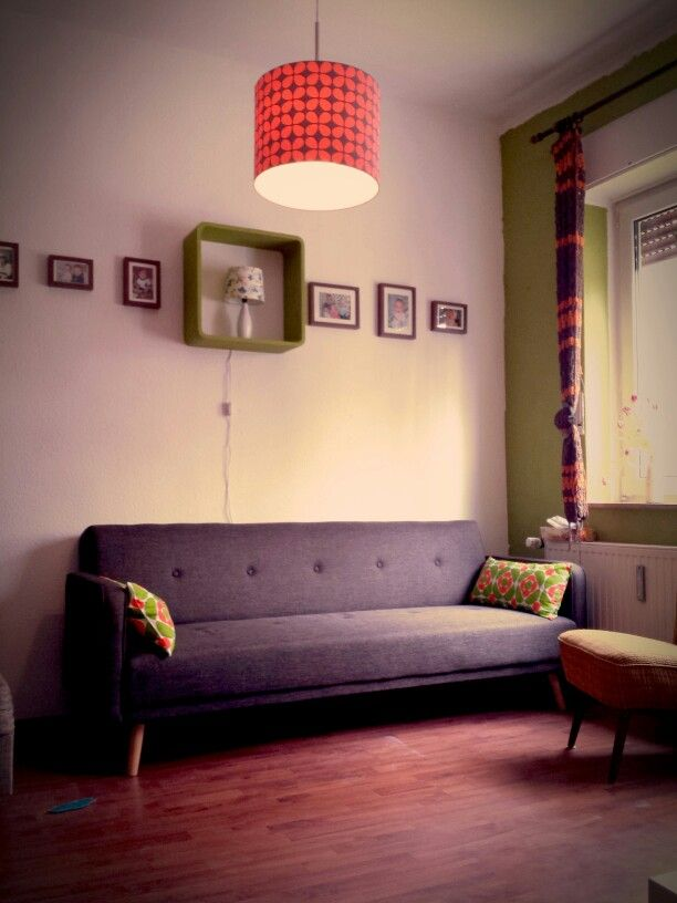 Retro Vintage Living Room Wohnzimmer im 60\u0027s Style retro