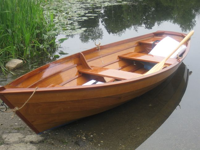 Wooden Row Boats | The first boat that I built was a glued lapstrake modified dory. It ...