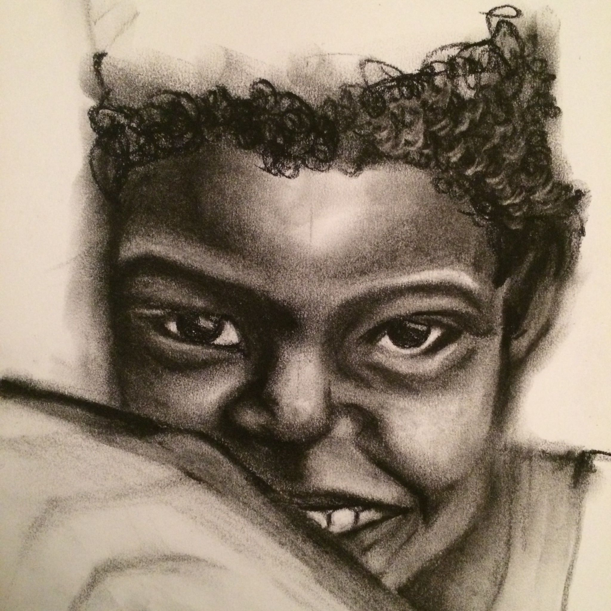 #82 one sketch a day, one drawing a day, daily drawing, daily sketch, african child