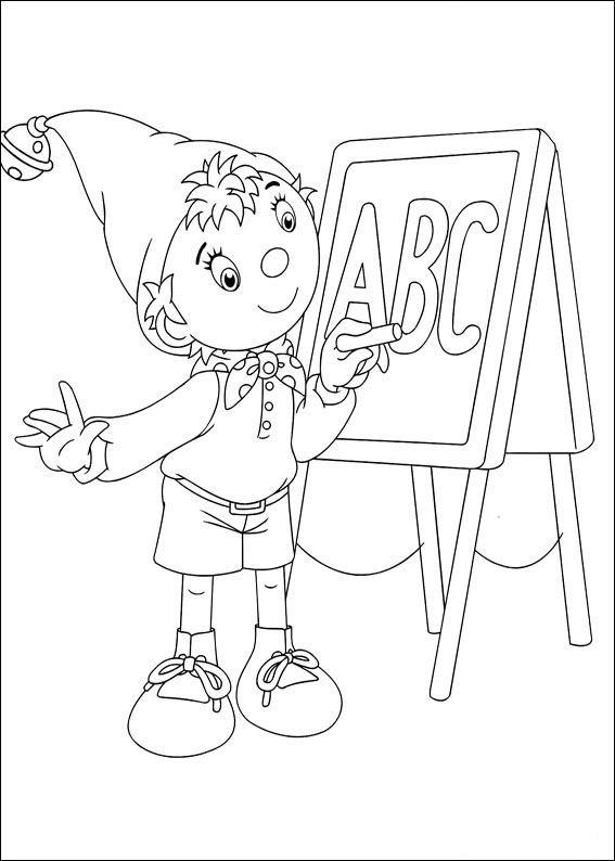 Dibujos para Colorear Noddy 18   Dibujos para colorear para niños ...