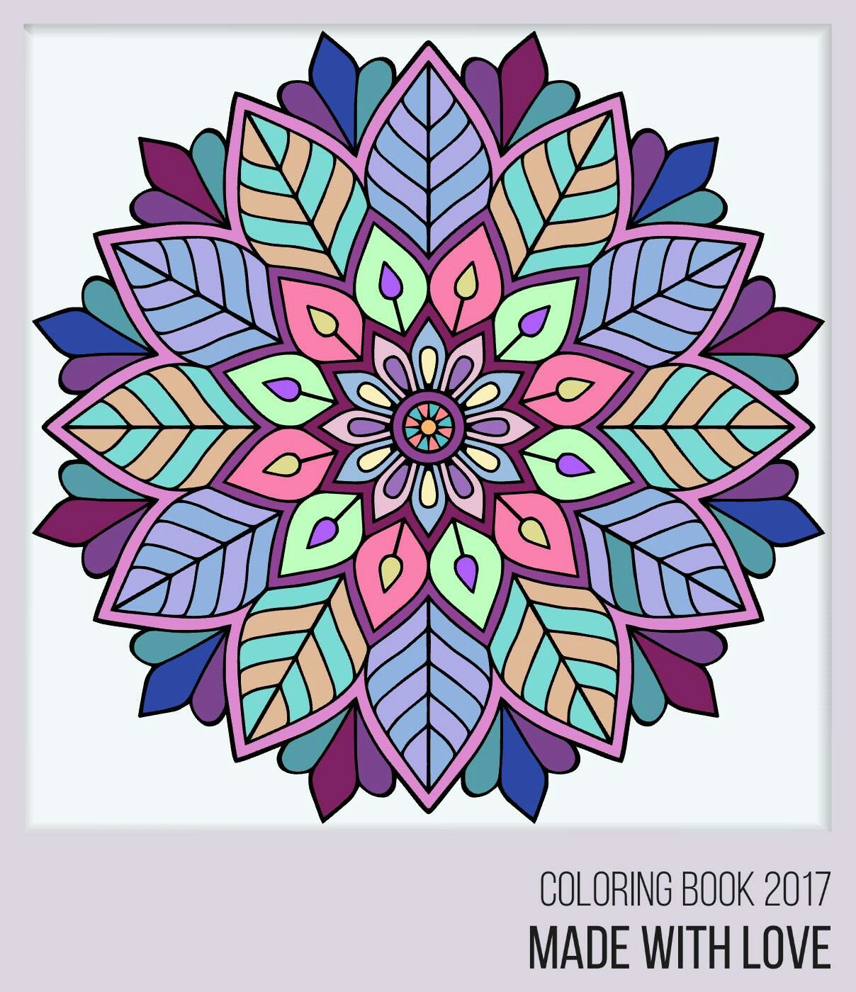 - Pin By Charmaine Alcantara On Color Scheme Mandala Coloring
