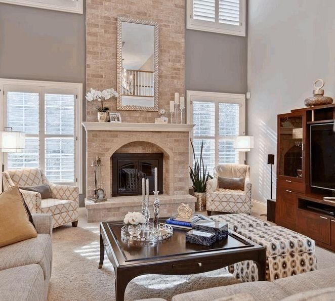 essential steps to living room designs with fireplace arrange furniture zaradesignhomedecor also rh pinterest