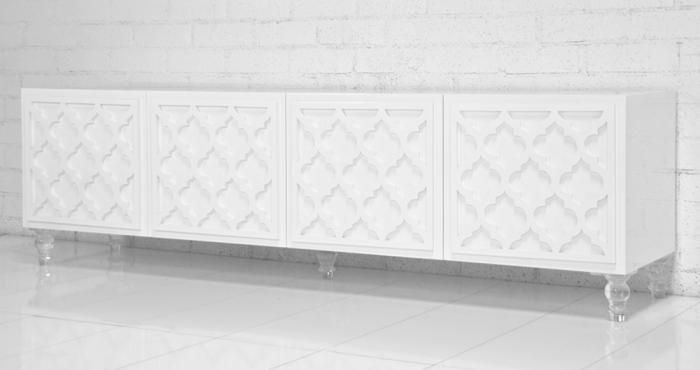 white office credenza. Tangier Credenza In White Office