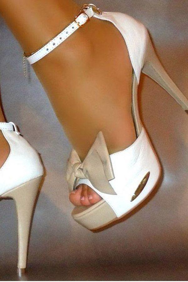 c4cafdd343b Shoespie Cute Bow Color Block Bowtie Platform Stiletto Heel Sandals