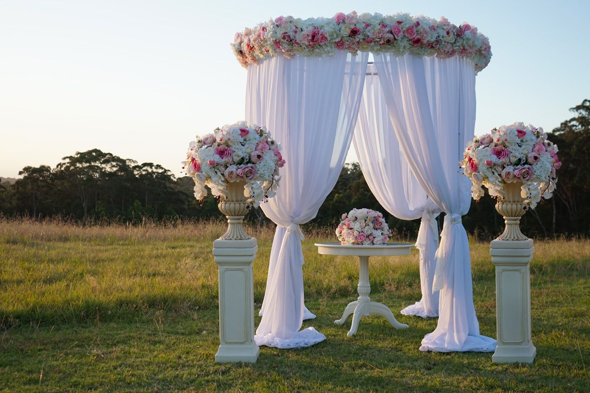 Wedding Canopy Hire Wedding Ceremony Decorations Marquee