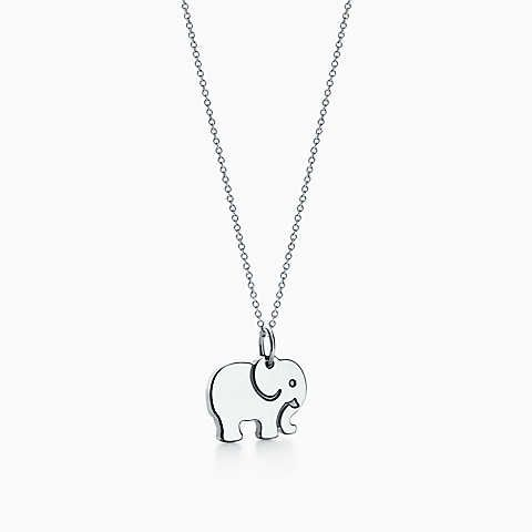 920da88d0fc7 Tiffany Charms elephant never forgets charm in sterling silver ...