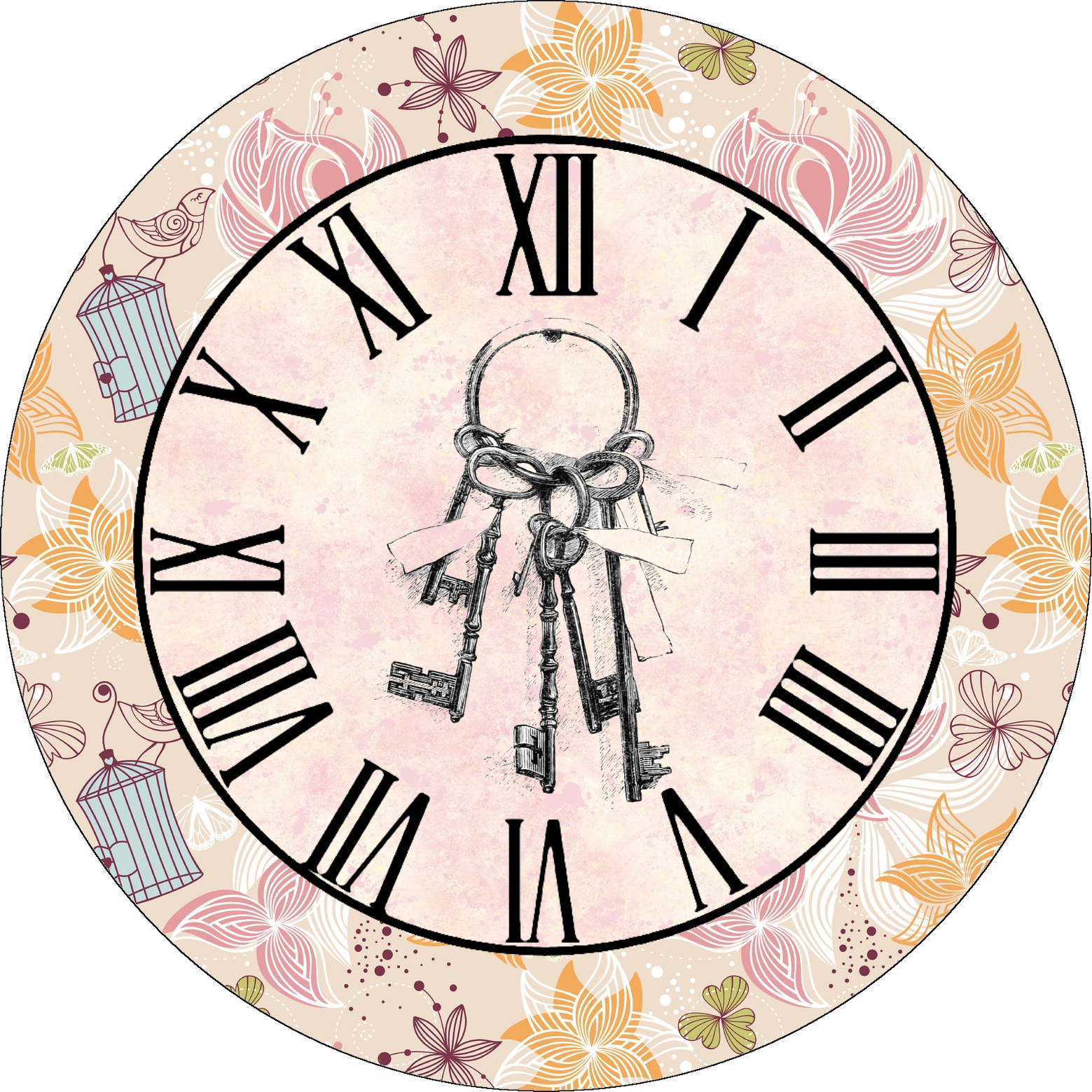 Printable Clock Face