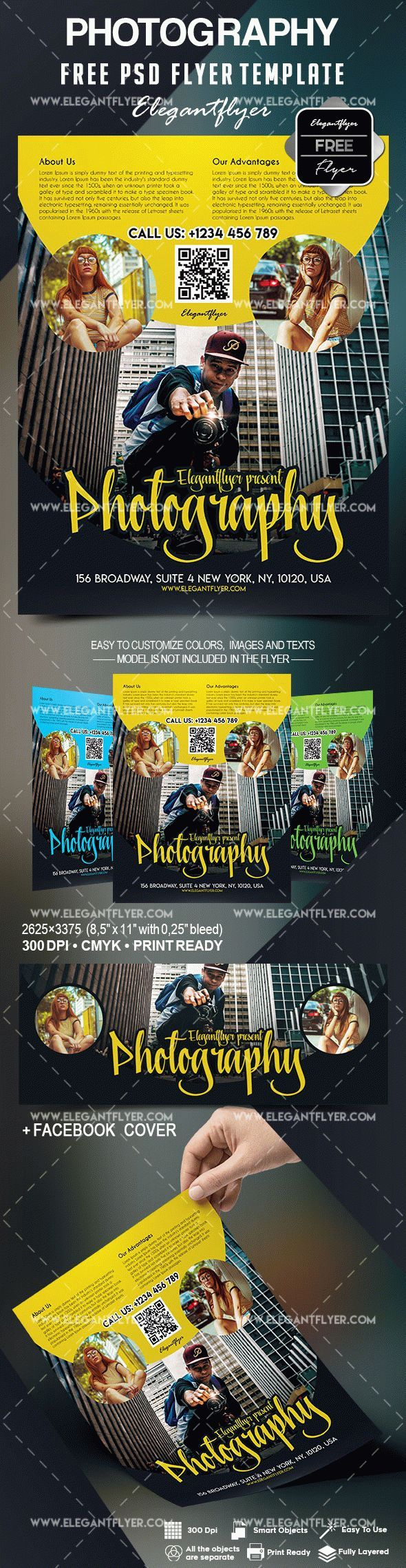 Free Photography Flyer Template Flayers Pinterest Photography