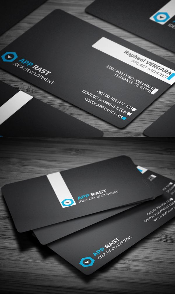 Business Cards Design: 50+ Amazing Examples to Inspire You - 1 ...