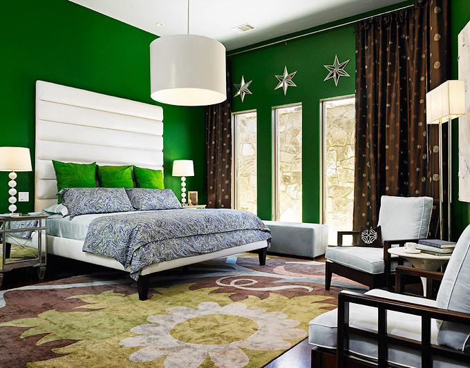 Color Roundup Emerald Green Green Bedroom Walls Bedroom Green