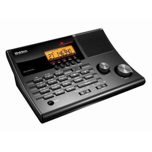 Uniden Scanner 500 Channels Clock Radio Police Fire NOAA