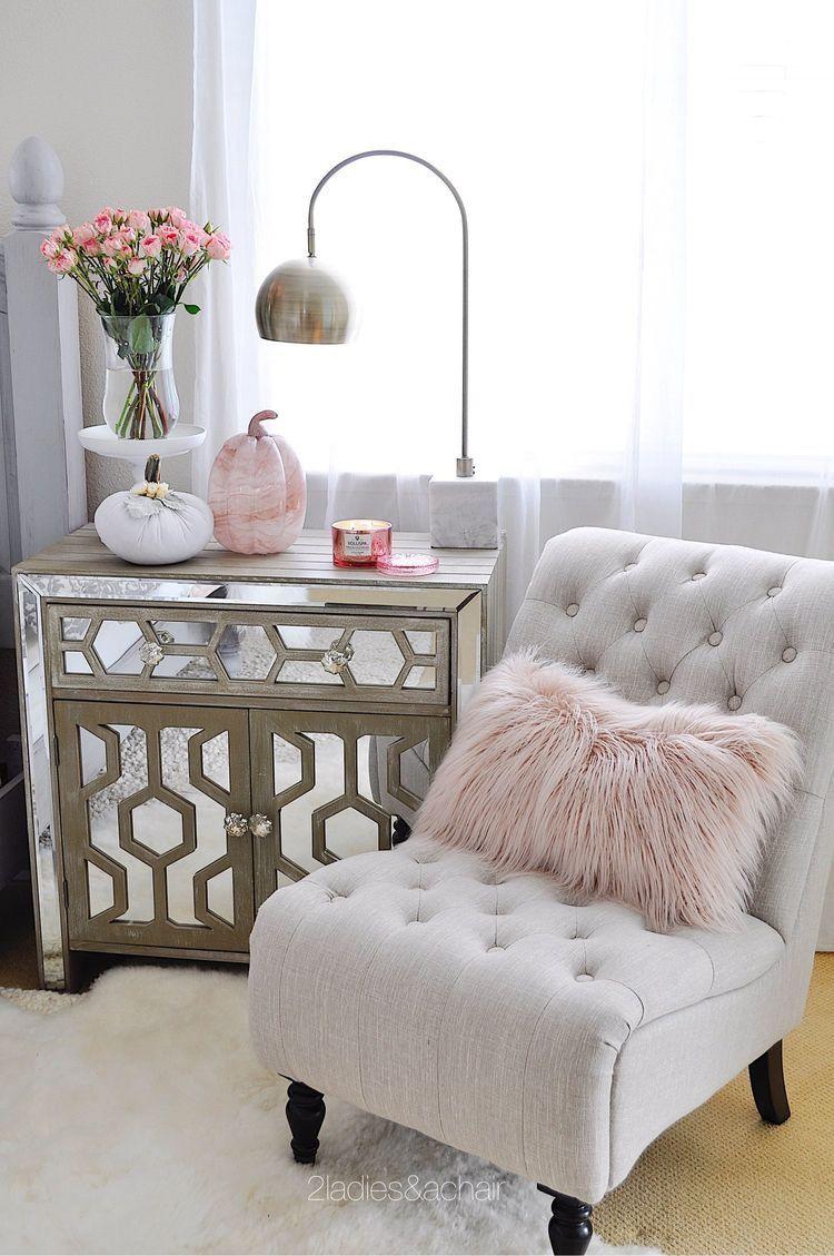 Master bedroom nook  The nightstand   Master Bedroom  Pinterest  Bedroom Home Decor