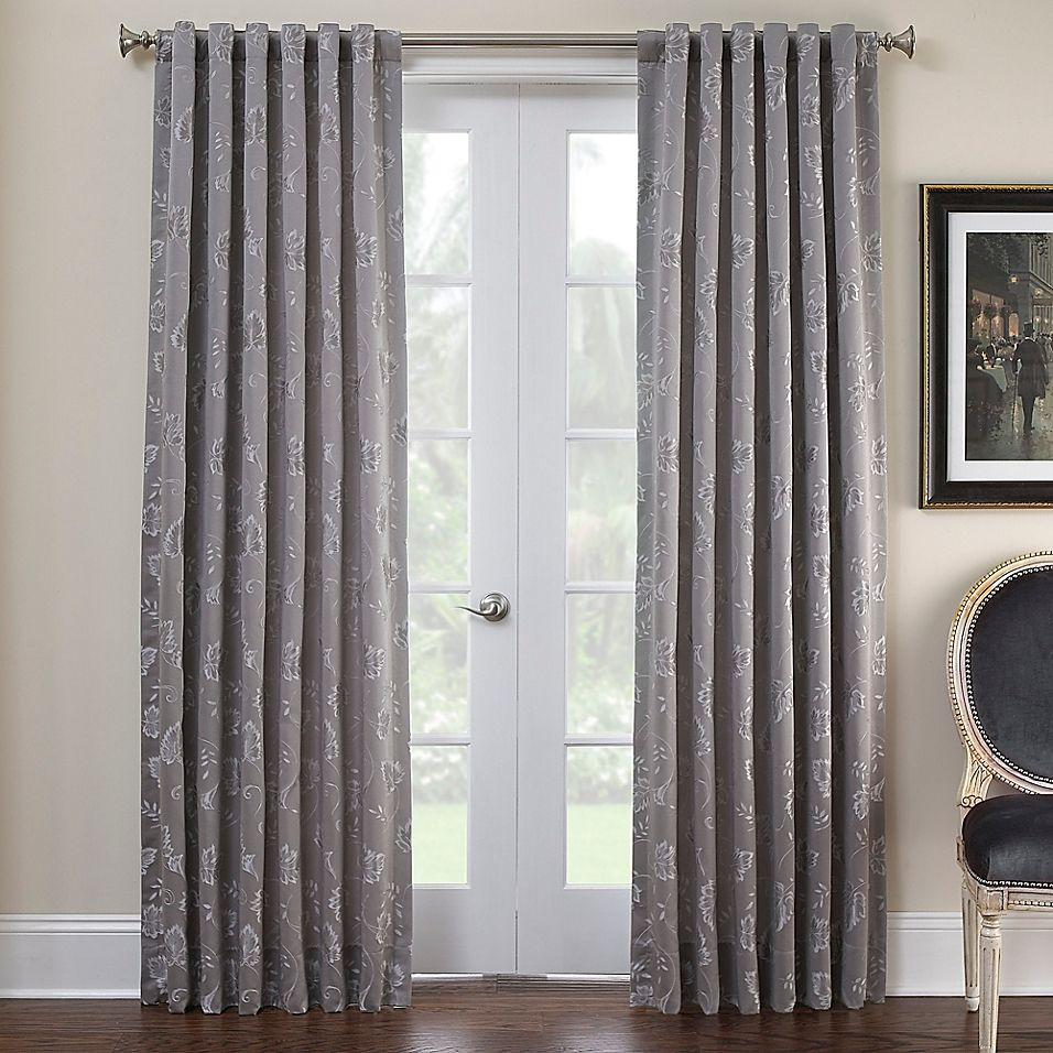 Marquis By Waterford Samantha 84 Rod Pocket Window Curtain Panel