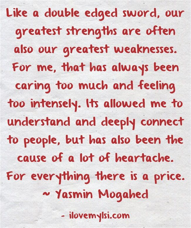 Loving Caring Quotes: Caring Too Much, Feeling Too Intensely