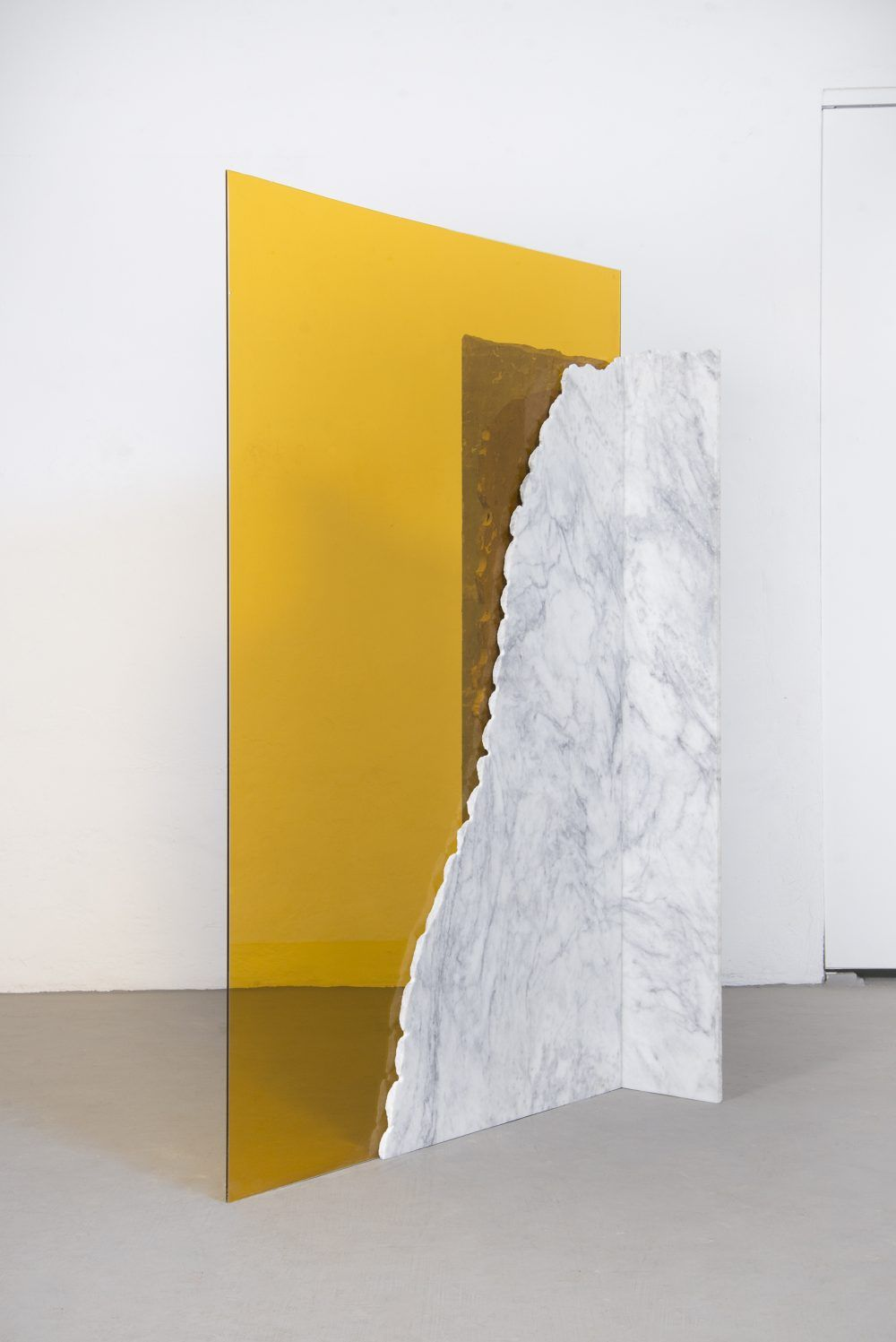 From Jose Dávila\'s slick, precariously balanced marble and glass ...