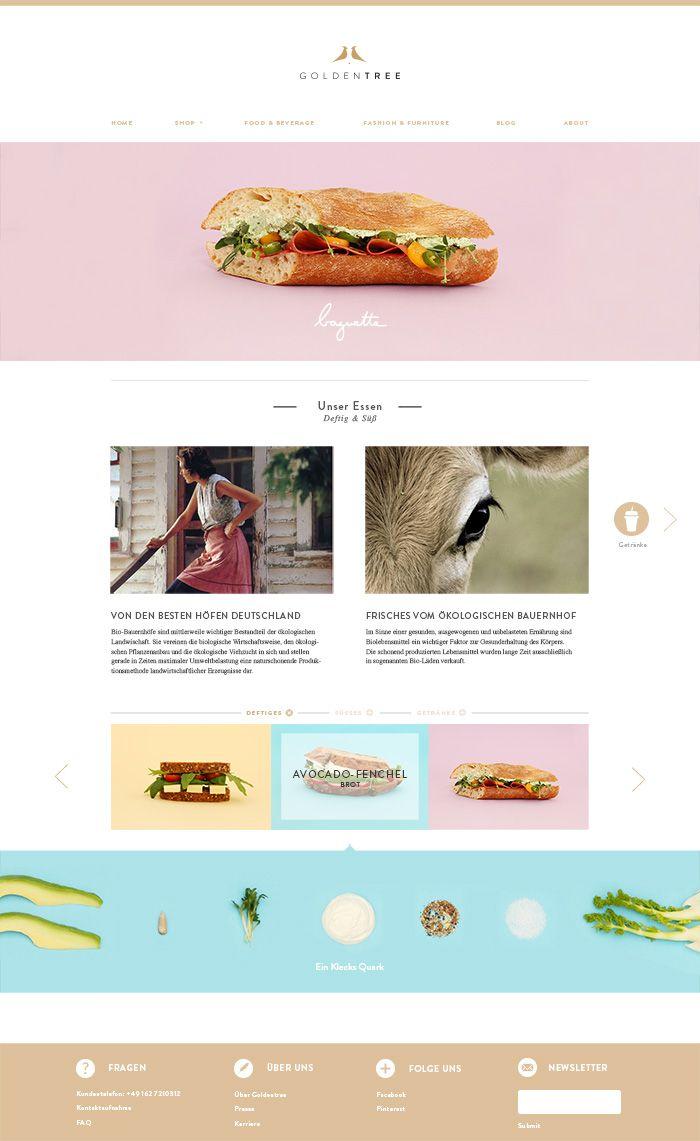Website soft colors - Soft Colors Simple Layout