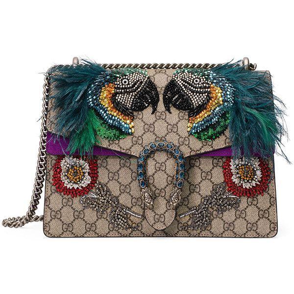 4f99fef5e391 Gucci Dionysus Medium Parrot Shoulder Bag ( 4