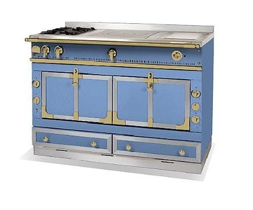 La Cornue French Stove This Blue Is Beautiful If You Would Like To View
