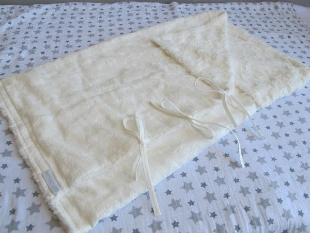 edición de lujo de saquito convertible en manta #handmade de #mimitoshome