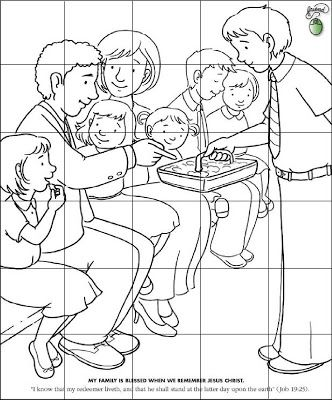 RobbyGurl\'s Creations: LDS Pictures for the 6 Sided Puzzle | Primary ...