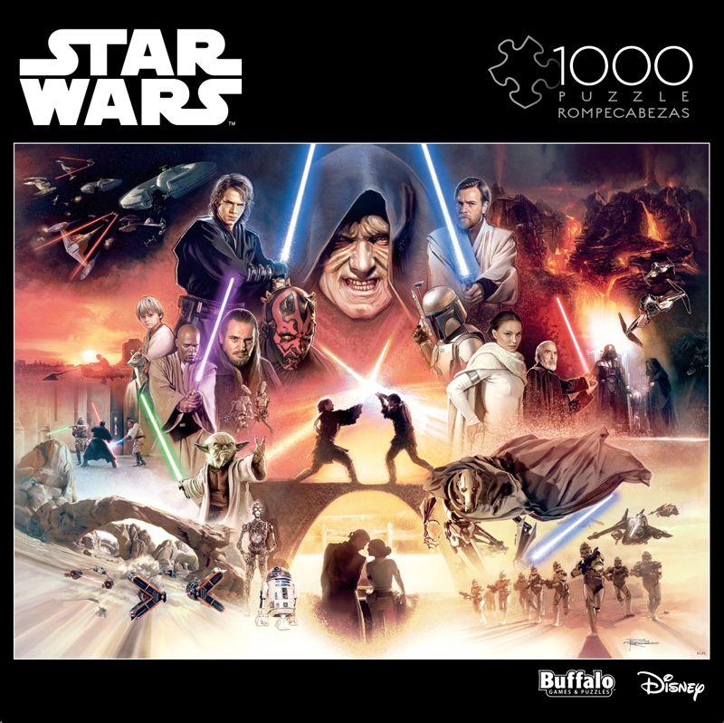 Star Wars I Sense Great Fear In You Skywalker 1000 Piece Jigsaw Puzzle Buffalo Games Star Wars Puzzles Jigsaw Puzzles Great Fear