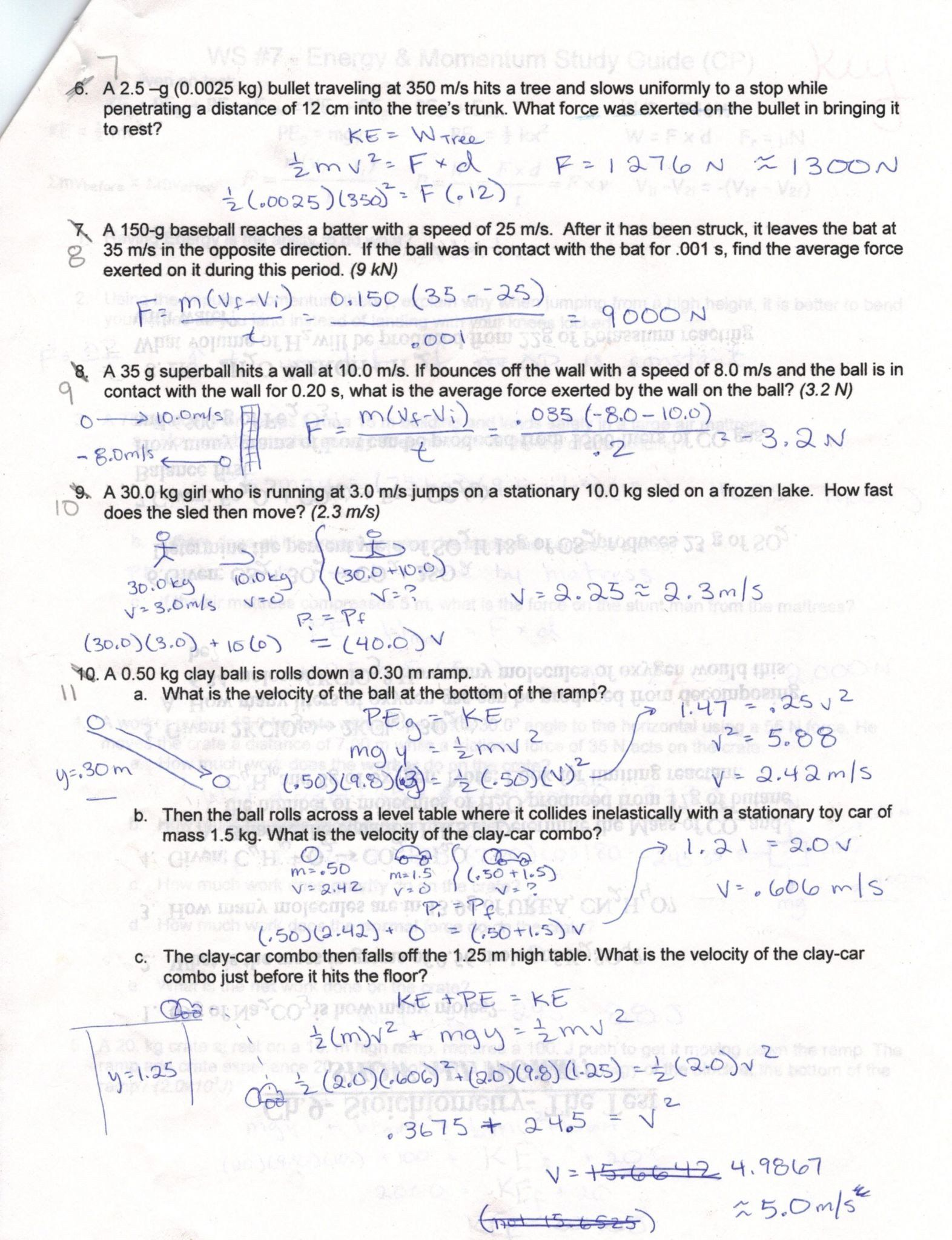 Speed Velocity Acceleration Worksheet Answers