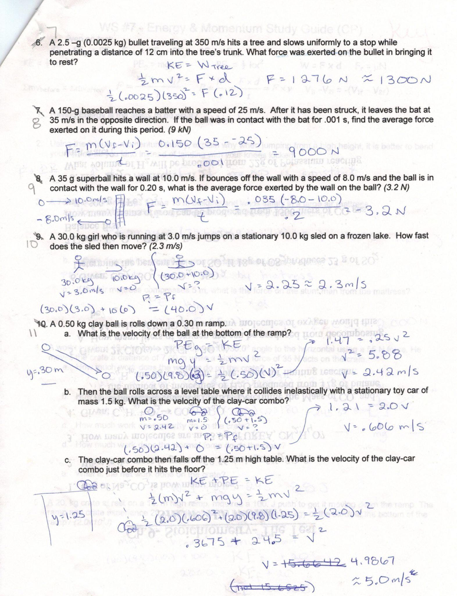 Speed Velocity Acceleration Worksheet Answers - worksheet