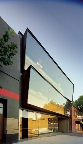 creating modern eye catching frontage doesnt need to be over the top - Cool Architecture Office Buildings