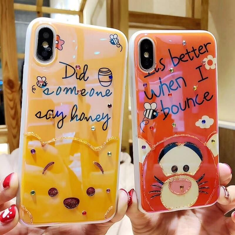 8 Disney wireless charger Winnie the Pooh iPhone X 8Plus Galaxy S6