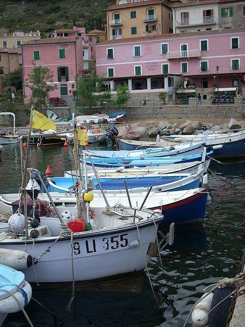 Giglio Porto, Isola del Giglio, Grosseto, Tuscany, Italy