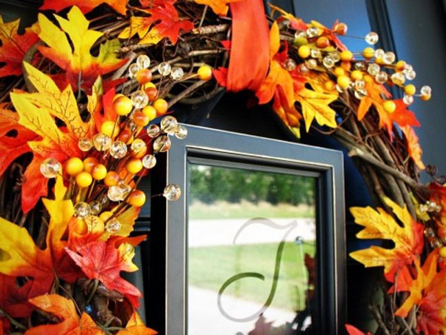 Diy Fall Wreath Inspiration Wreaths And Crafts