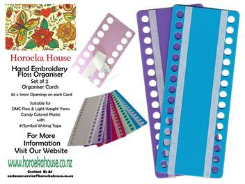 Cross Stitch Embroidery Floss Project Organiser sm
