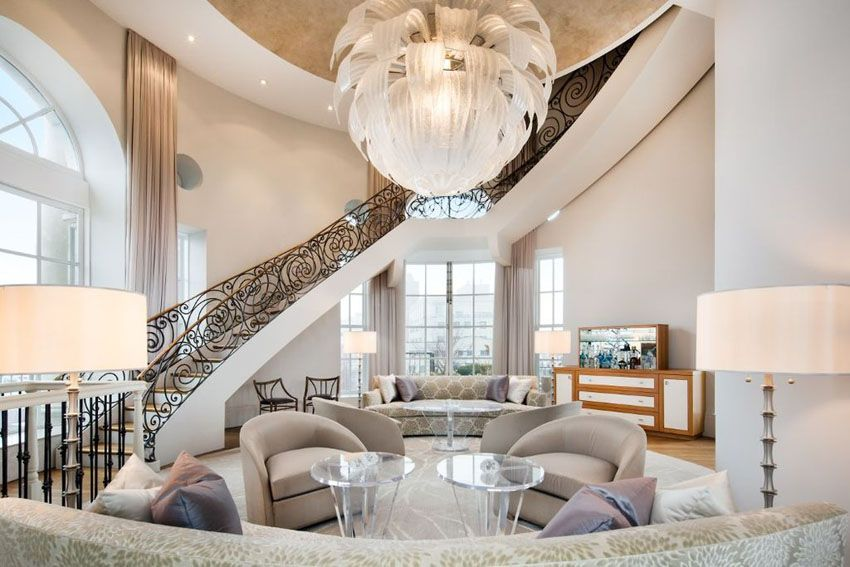 43 Beautiful Large Living Room Ideas Formal Casual Designs Living Room Decor Modern Luxury Homes Home