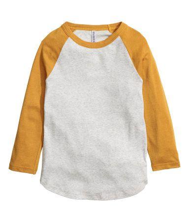 a16c31a40c0 Baseball Shirt   Mustard yellow   Ladies   H&M US   clothing insp ...
