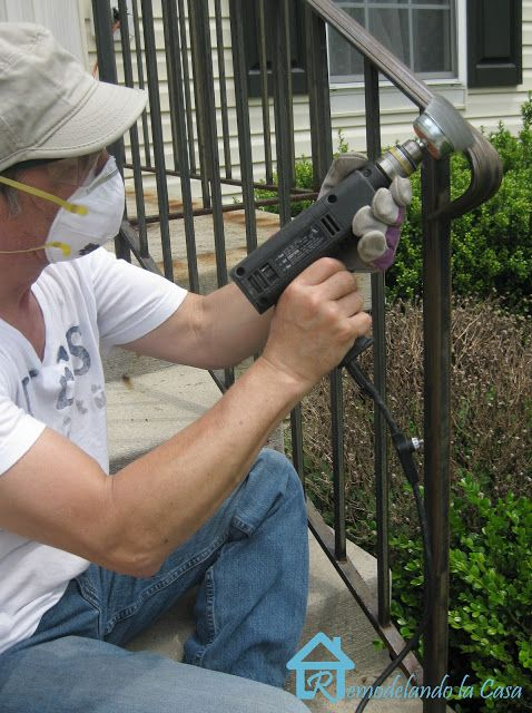 Front Yard Care And How To Remove Rust From Metal How To Remove Rust Remove Paint From Metal Remove Rust From Metal