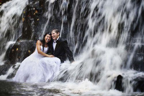 under the waterfall by paulette mertes via flickrnice
