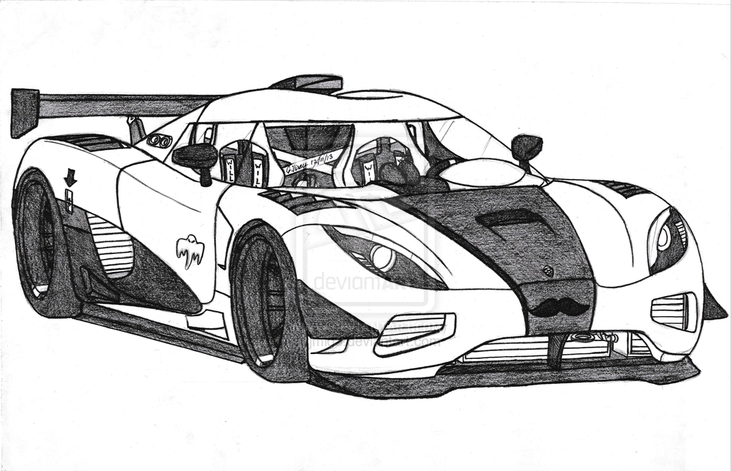 Koenigsegg Agera R Drawing | car coloring pages | Pinterest ...
