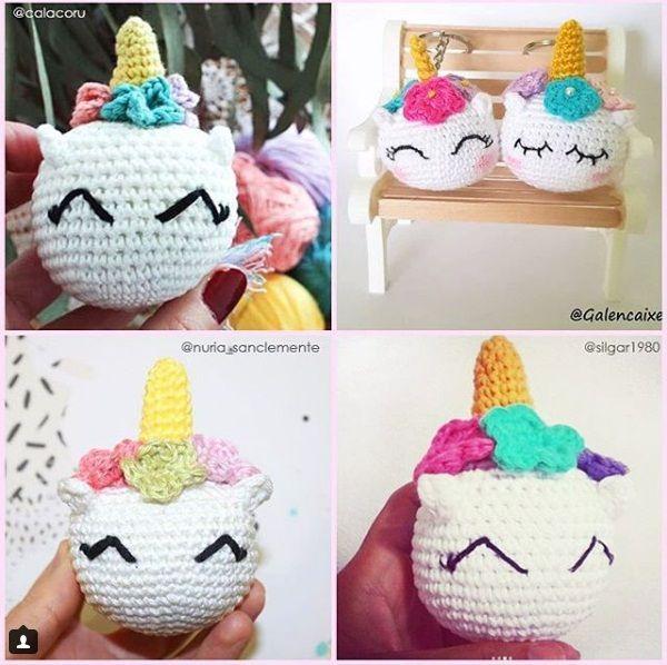 Pin by salma fouad on crochet 7   Pinterest   Crochet, Unicorn and ...