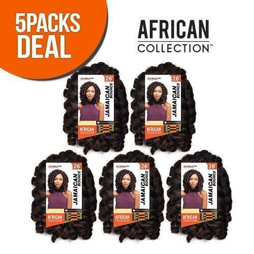 Jamaican Hairstyles Gallery: [5 PACKS DEAL] JAMAICAN BOUNCE 26 AFRICAN COLLECTION