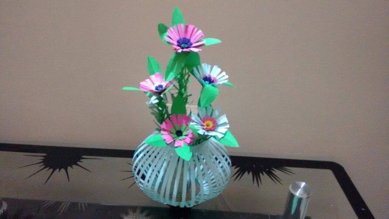 How To Create Beautiful Paper Flower Bouquetsket Decoration Ideas