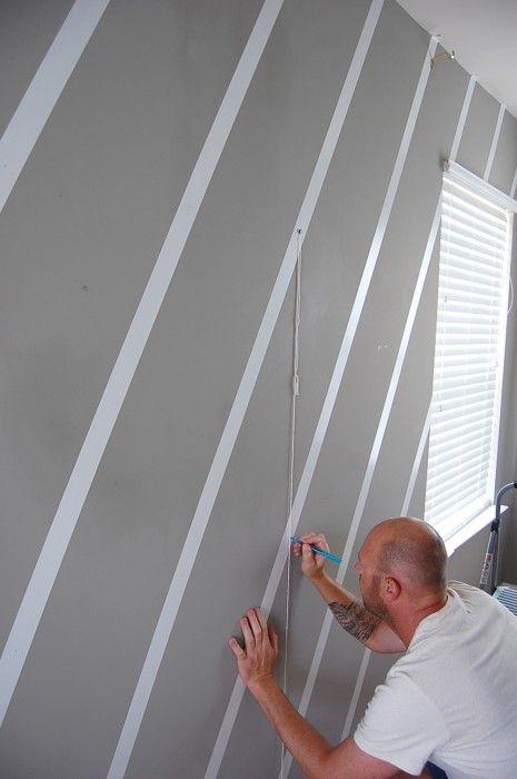 No paint diamond wall [diy] diamond wall wall stencil designs wall