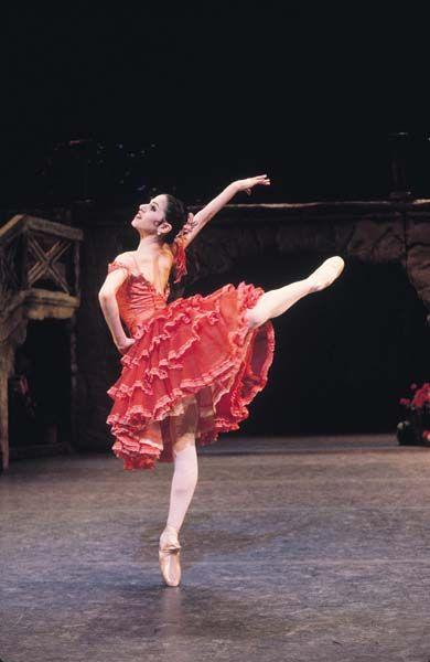 Paloma Herrera in Don Quijote.