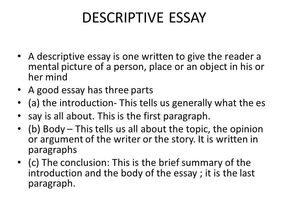 The Proper Order Of Parts For A Research Paper Is Informative Essay Good Essay Essay