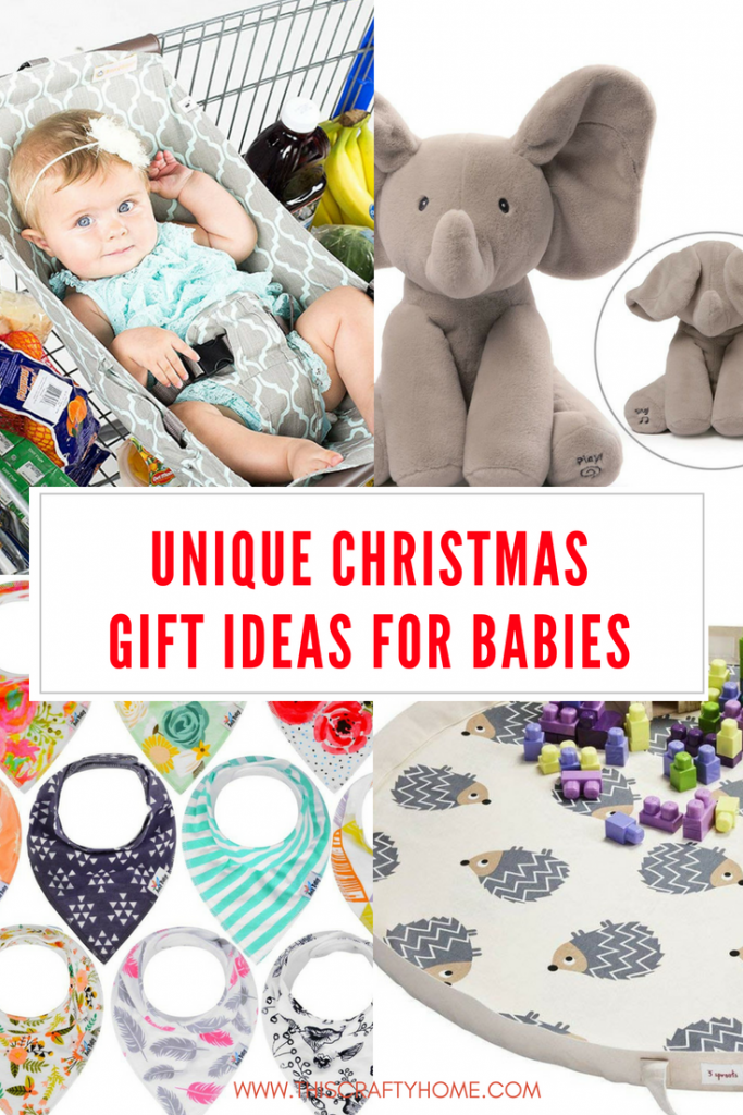 Unique baby Christmas gift ideas! These ideas are perfect ...