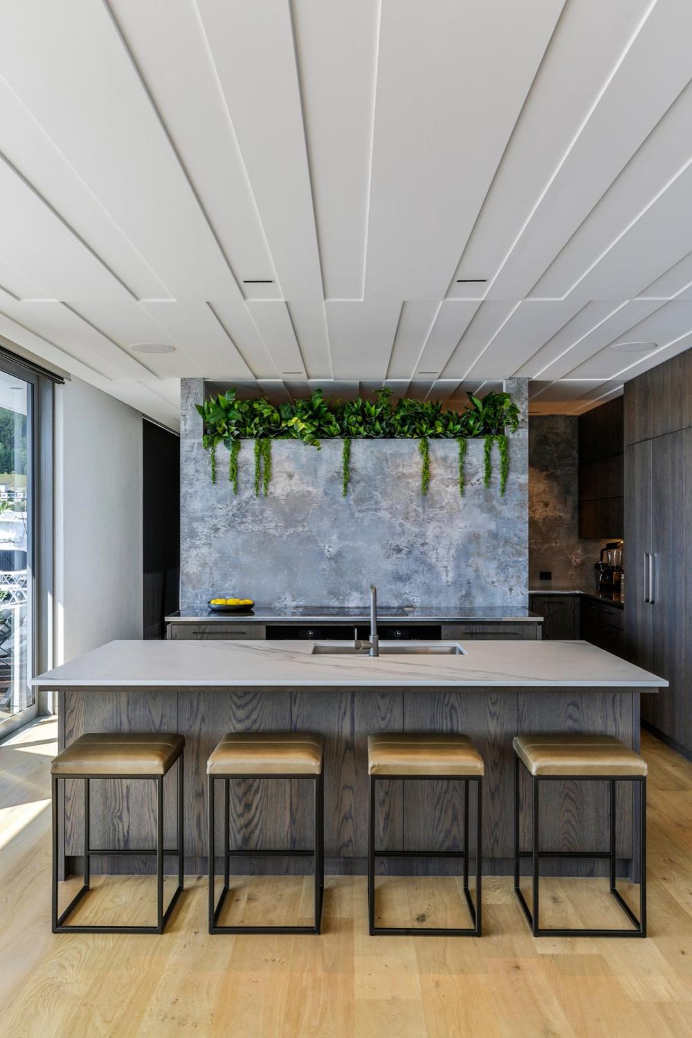 Coromandel Holiday Home Kitchen Contemporary Kitchen