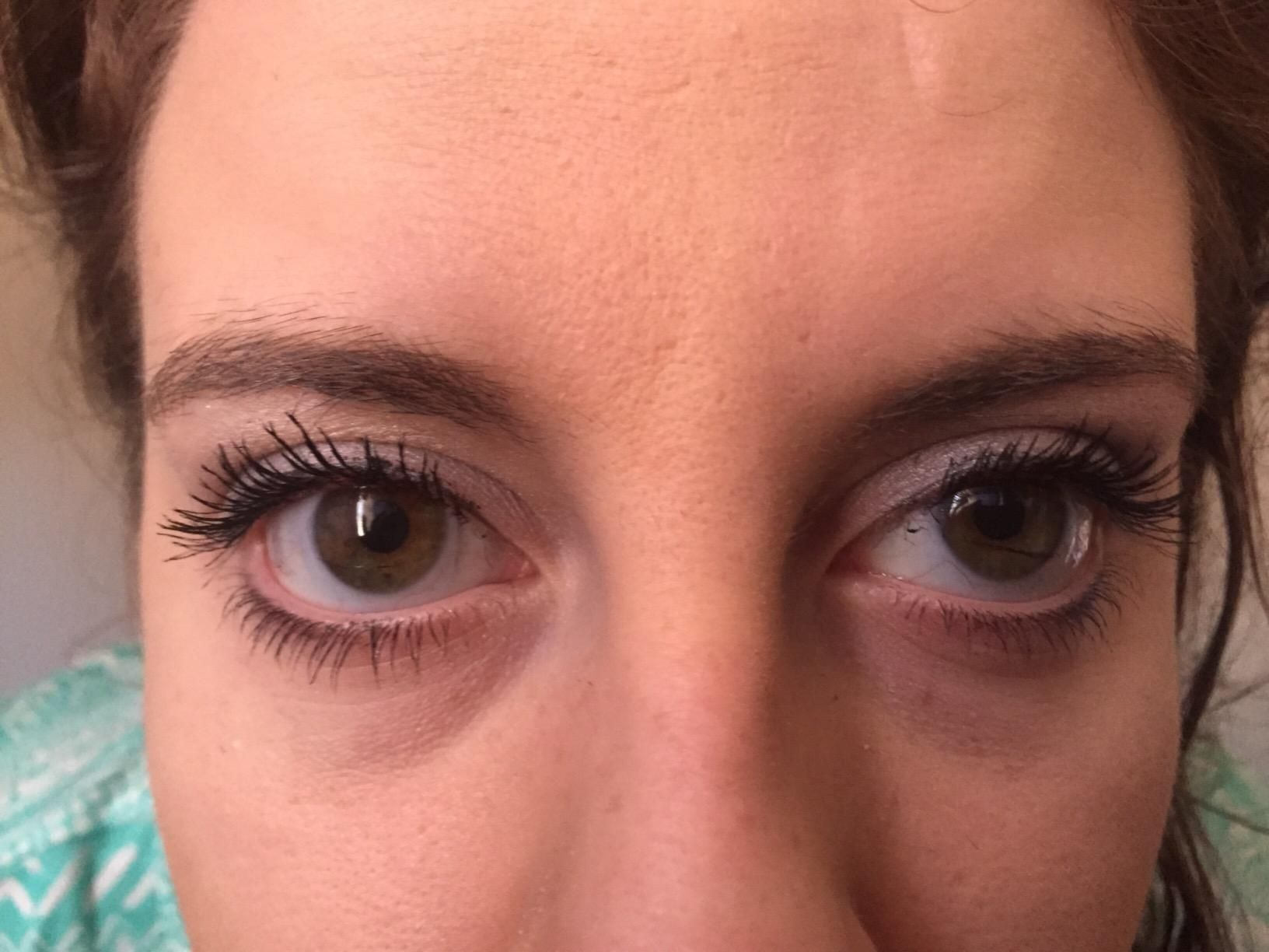 The actual result of using 3D Fiber Mascara by Lash Factory