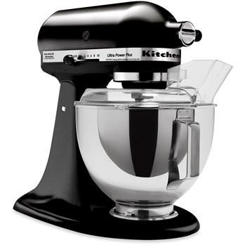 Kitchenaid Ultra Plus Stand Mixer In Black Or Red With Attachments Please