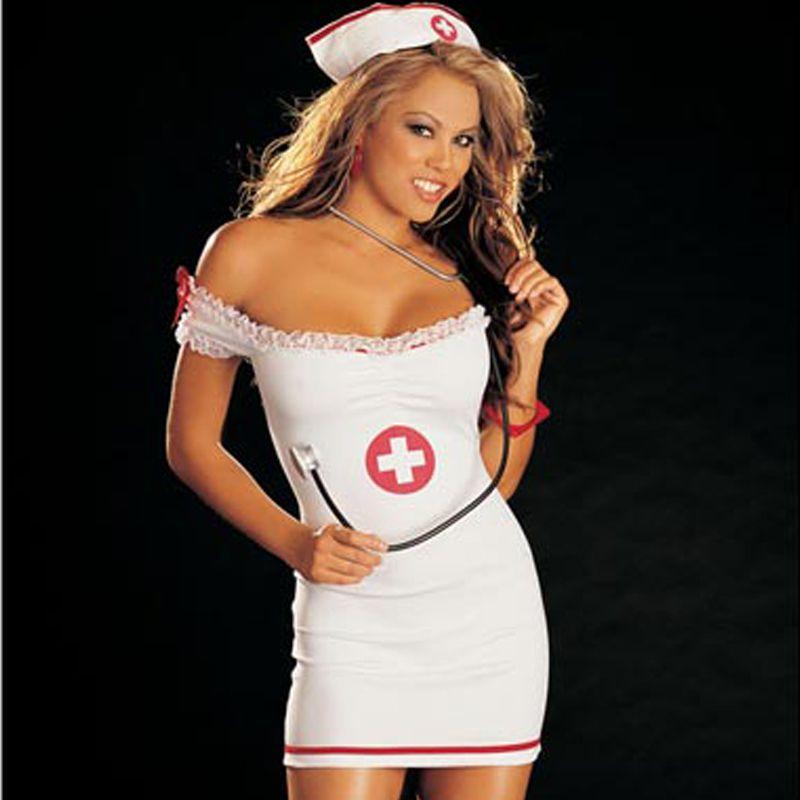 2016 Nurse Uniform Sexy Women Medical Naughty Costume Devil Sexy - halloween costume ideas for women 2016