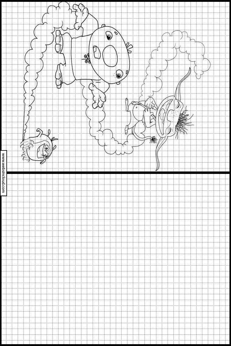 Zeichnen Lernen Aktivitaten Fur Kinder Zum Drucken Wallykazam 7 Dessin Coloriage Apprendre A Dessiner