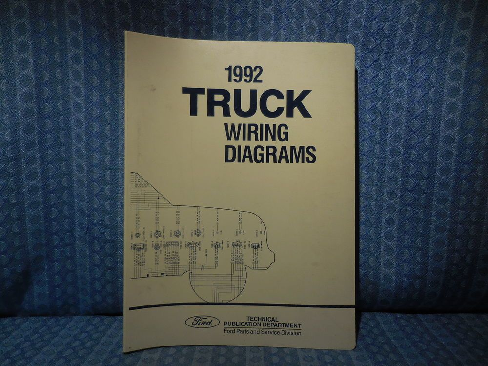 1992 Ford Truck Oem Wiring Diagrams F Ranger Econoline L Explorer